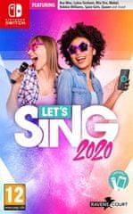 Ravenscourt Let's Sing 2020 igra + 2x mikrofon, Switch