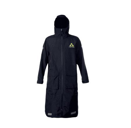 FISCHER Rain Coat dežni plašč, M, črn