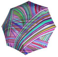 Doppler Damski w pełni składany auto matic Umbrella Carbon Steel Magic Oświetlenie 744865IL01