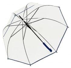 Doppler Női botesernyő Hit Long Automatic transparent Glocke 77354B03