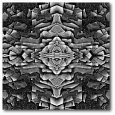 Courtside Market Asijský vzor v černobílé - 40 X 40 cm