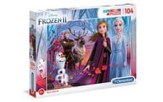 Clementoni Frozen 2 sestavljanka, 104 kosov (25388)