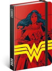 Wonder Woman Týdenní diář Wonder Woman 2020, 11 × 16 cm