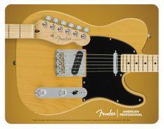 Fender Telecaster Mouse Pad Butterscotch Blonde Podložka pod myš