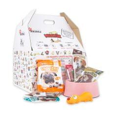 """Akinu """"MULTÍK"""" ajándékcsomag kicsi és közepes kutyák számára"""