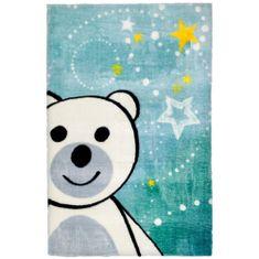 Jutex Detský koberec Lollipop 182 medveď, Rozmery 1.30 x 0.90
