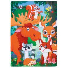 Jutex Detský koberec Fairy Tale 635 Forest, Rozmery 1.50 x 1.00