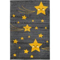 Jutex Detský koberec Playtime 0610A žltý