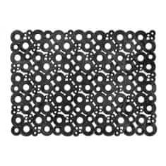 Jutex Bubbles black 007, Rozmery 0.70 x 0.50