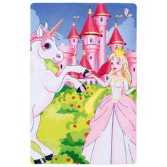 Jutex Detský koberec Fairy Tale 631 Princess, Rozmery 1.50 x 1.00