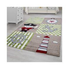 Jutex Detský koberec Kids 450 béžový, Rozmery 2.30 x 1.60