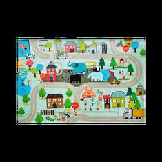 Jutex Detský koberec Torino Kids street, Rozmery 1.20 x 0.80