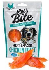 Brit Let's Bite Meat Snacks - Chicken Fillet 300 g