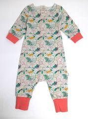 Cigit Kids Dětský baggy overal z přírodní bavlny Cigit Kids 86