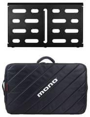Mono Pedalboard Medium Black + Tour Accessory Case 2.0 Pedalboard