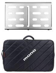 Mono Pedalboard Medium Silver + Tour Accessory Case 2.0 Pedalboard