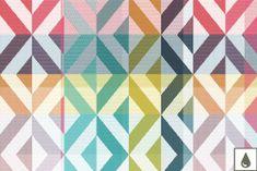 Garnier Thiebaut MILLE TWIST Pastel Prostírka 48 x 32 cm s ochranou proti ušpinění