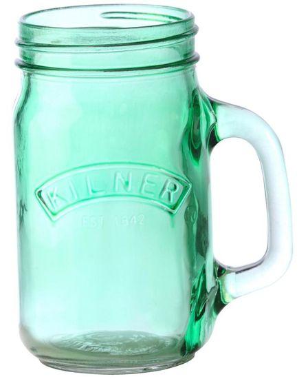 Kilner Džbánek s rukojetí 0.4 l, zelené sklo, Kilner