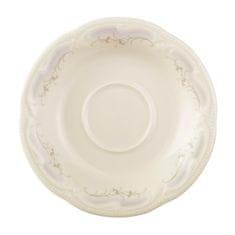 Königlich Tettau Rubin Cream Čajový podšálek 13 cm, Königlich Tettau