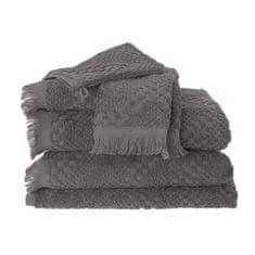 Garnier Thiebaut BOHEME Gris šedý ručník, Garnier Thiebaut Výška x šířka (cm): Ručník 50x100 cm