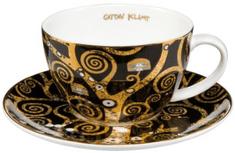 Goebel Klimt Čajový šálek a podšálek Strom života