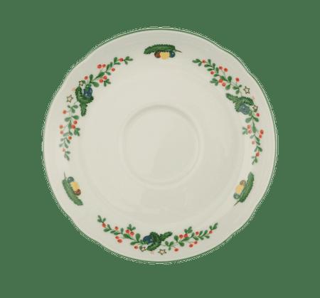 Seltmann Weiden Marie-Luise Weihnachten Malý čajový podšálek 13 cm, Seltmann Weiden