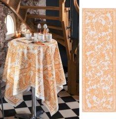 Beauvillé DINER EN VILLE oranžový běhoun 50x150 cm, Beauvillé KONČÍ!!!