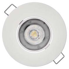 Emos Výhodné balení 3 ks spotlight Exclusive bílý 5W neutrální bílá