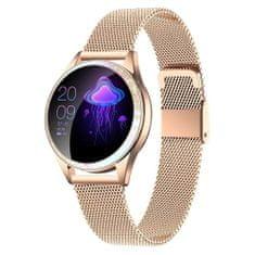 ARMODD Candywatch Crystal - zlatá, dámske smart hodinky (smartwatch)