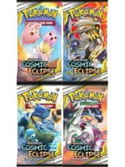 Kartová hra Pokémon TCG: Cosmic Eclipse - Booster (10 kariet)