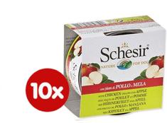 Schesir Konzerva Dog Fruit kuracie + jablko 10 x 150 g