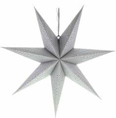 Retlux RXL 340 srebrna zvijezda 10LED WW