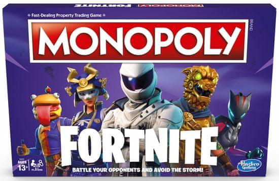 HASBRO Monopoly Fortnite Anglická verzia