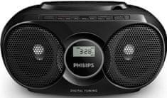 Philips AZ318B prenosni radio s CD predvajalnikom