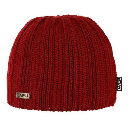 Capu 1860-B téli kalap piros