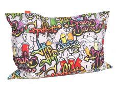 Vipera Sedací vak Vipera Pillow Graffiti - grafity