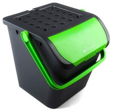 BRILANZ Eco koš za sortiranje otpada, 28 l, zeleni