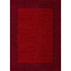 Nazar kusový koberec Vega Shaggy - 160 x 230 cm, červený
