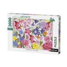 Nathan puzzle 2000 dílků, Duch květin / Turnowsky