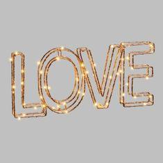 Cdiscount světelný 3D nápis LOVE