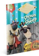Ovečka Shaun Školní sešit Ovečka Shaun , A5, 20 listů, nelinkovaný