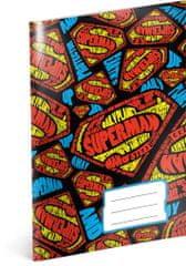 Superman Školní sešit Superman – Shapes, A5, 40 listů, nelinkovaný