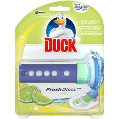 SC Johnson Duck Fresh Discs Vůně limetka WC gel pro hygienickou čistotu a svěžest toalety - 36 ml