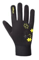 Etape 1820914 Puzzle WS otroške rokavice, črno-fluorescentno rumene