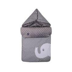 Womar Multifunkčná zavinovačka Womar sloník sivá Sivá