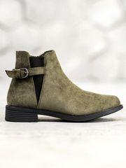 Evona Semišové kotníkové boty