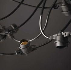 Emos Party žarnice svetlobna veriga E27, 10 x, osnovni set