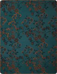 Biederlack deka Rust & Teal, Oriental
