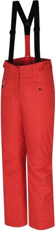 Hannah Awake ženske smučarske hlače Hot Coral, rdeče, 42