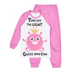 Garnamama dívčí svítící pyžamo Neon